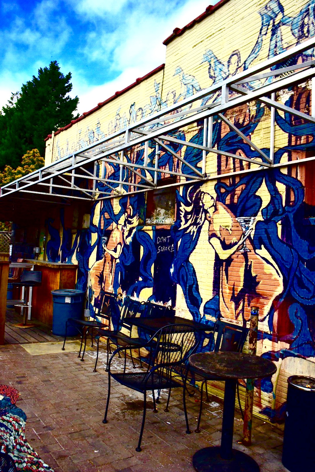 Patio: Silver Moon Saloon