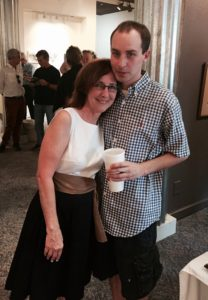 WIth son Truitt Weaver at MYTH launch_Montgomery_2016